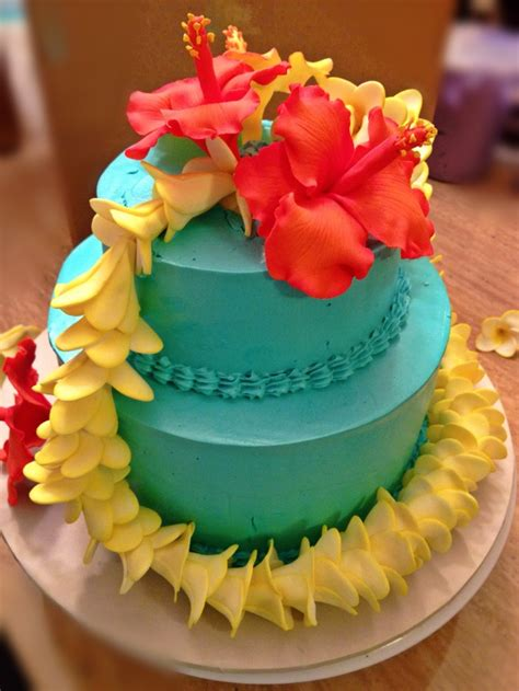 Hawaiian Cake Decorations by Hawaiian Themed Cake Ideas For Rae S Sweet 16