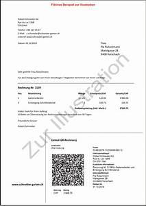 E Rechnung öffentliche Verwaltung : kurz erkl rt die k nftige rechnung mit qr code statt einzahlungsschein buspro ~ Themetempest.com Abrechnung