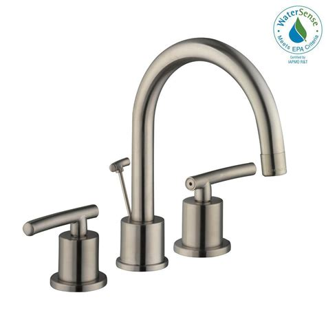buying a kitchen faucet glacier bay dorset 8 in widespread 2 handle high arc