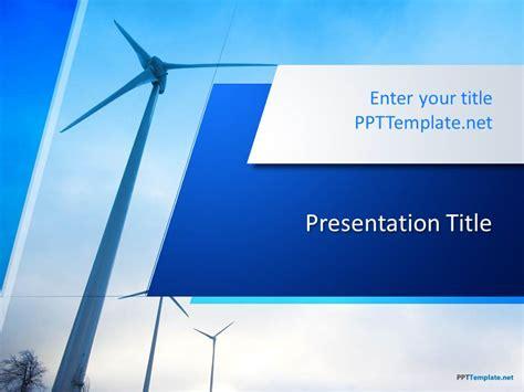 wind energy  template