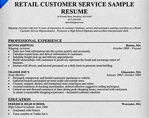 Excellent customer service resume examples resume for Customer service resume examples