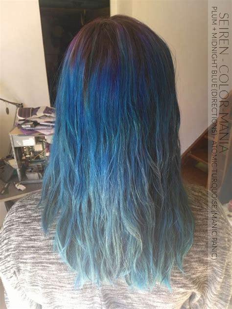 coloration cheveux temporaire bleu coupes de cheveux