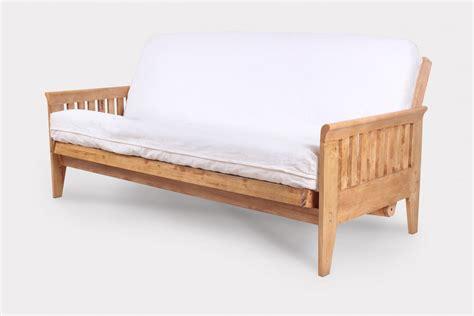 size futon frame juno size futon frame medium oak right futons