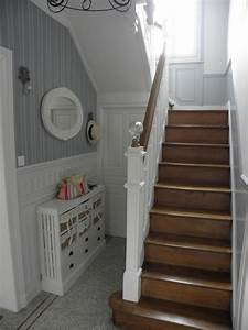 deco entree avec escalier With idee deco entree avec escalier