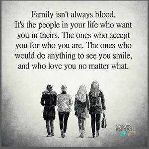 Lessons Learned... Family Blood Quotes