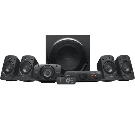 speaker logitech z906 5 1 dolby logitech z906 5 1 surround sound speaker system heavyarm