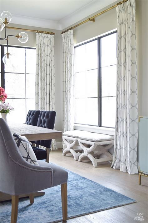 Drapes For Dining Room - best 25 dining room curtains ideas on dining