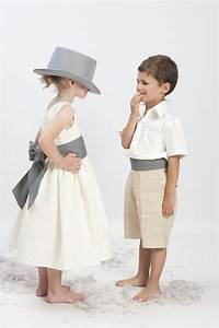 Tenue Garçon D Honneur Mariage : robe de demoiselle d 39 honneur en coton avec ceinture de couleur pour le petit gar on bermuda et ~ Dallasstarsshop.com Idées de Décoration