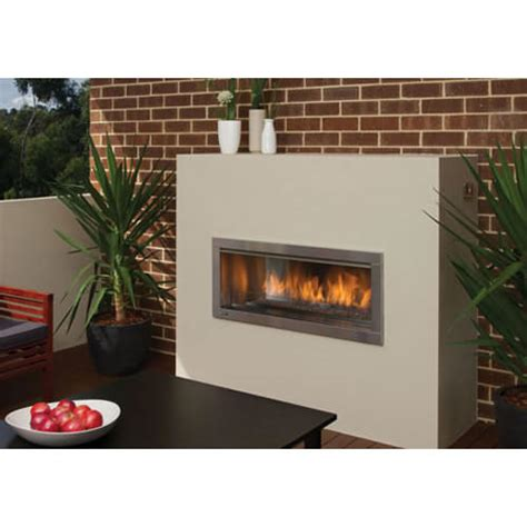regency hzo outdoor gas fireplace   stoves brisbane