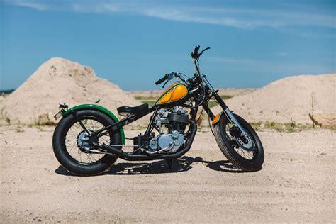 resurrected yamaha sr bobber throttle roll