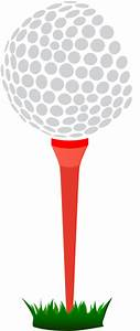 Golf Ball On Tee Clip Art | Clipart Panda - Free Clipart ...