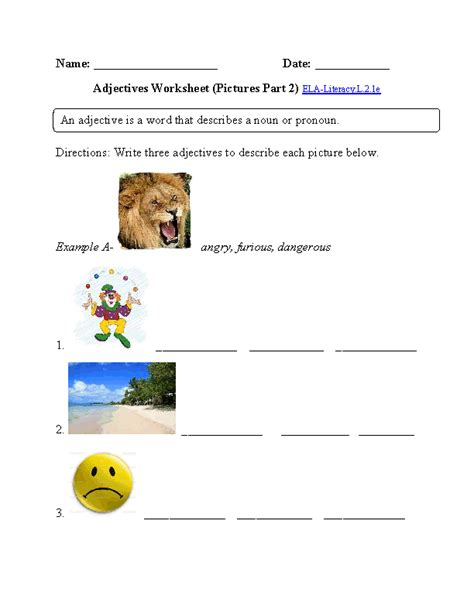 grade common core language worksheets