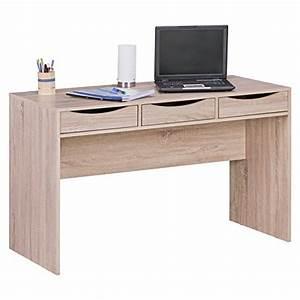 Tisch Mit Stauraum : finebuy schreibtisch 120 cm design b ro tisch in sonoma eiche moderner computer tisch mit 3 ~ Eleganceandgraceweddings.com Haus und Dekorationen