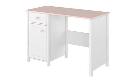bureau fille et blanc bureau design fille avec rangements cocoon pas cher