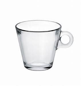Verre à Café : tasse caf en verre 28 cl x6 service de table ~ Teatrodelosmanantiales.com Idées de Décoration