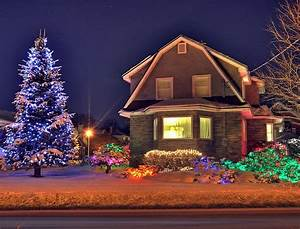 Outdoor, Christmas, Decorating, Ideas, Pictures