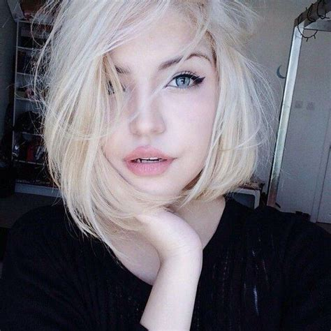 Beauty Blonde Blue Eyes Fashion Gorgeous Selfie