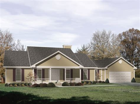 ranch home plans with front porch bedford heights ranch home plan 058d 0174 house plans