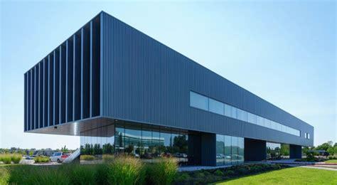 custom colored metal panels accentuate unique architectural design  progressive pediatric