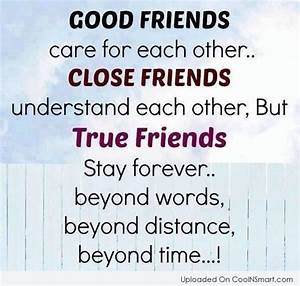 The Difference of Good Friends, Close Friends, and True ...