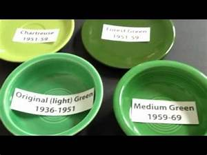 Fiestaware Color Chart Medium Green Fiesta Ware Or Fiestaware Youtube