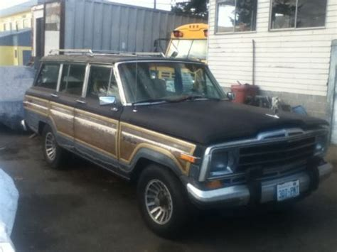 buy   jeep grand wagoneer project car
