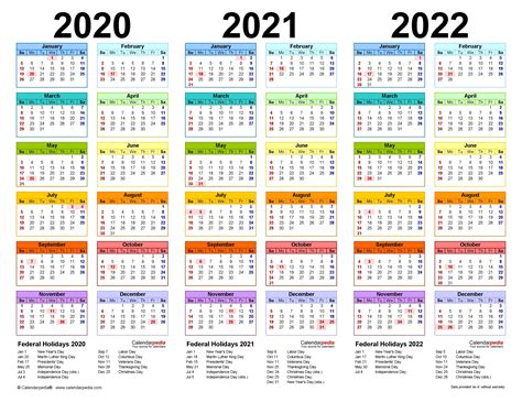 20+ 2021 Fiscal Calendar - Free Download Printable ...