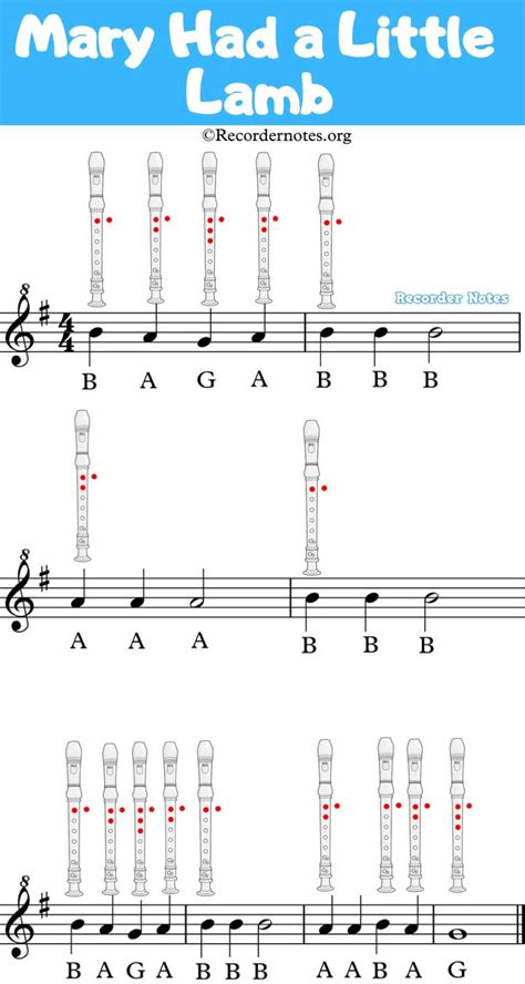 Check out our new recorder sheet music at recorderstreet.com. 🥇 Mary Had a Little Lamb on Recorder 🥇【Easy to play】 in 2020   Records, Recorder notes, Recorder ...