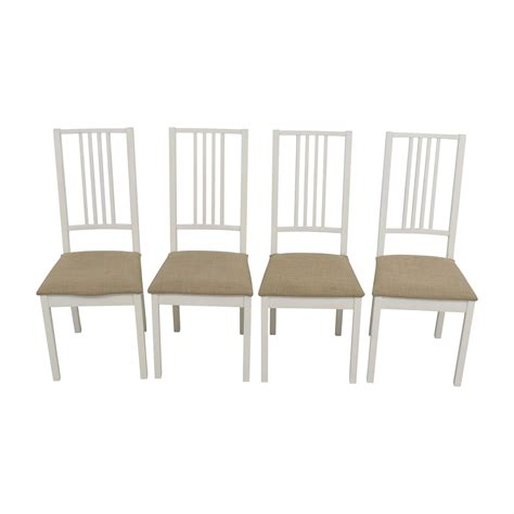 ikea white dining chairs  color trends
