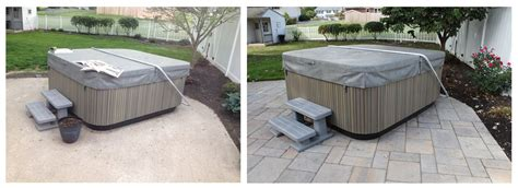 concrete patio overlay with pavers elizabethtown pa