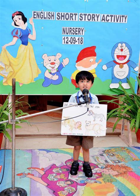 english-short-story-narration-activity | pre-primary | Apeejay School Faridabad