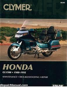 Clymer Honda Gl1500 Gold Wing 1988