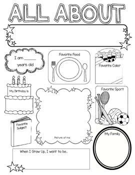all about me poster ideas for classroom 386 | 3b58e93108dd16498d499caeca57d51b