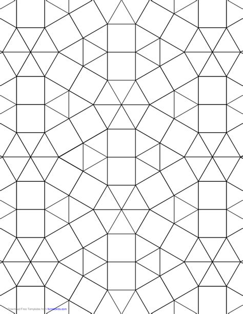 tessellation graph paper