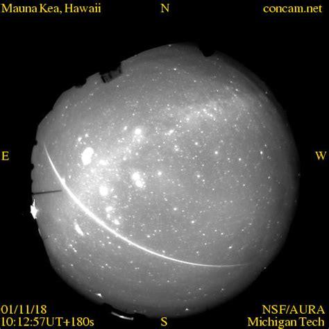 A 2001 Leonids Meteor Shower Fireball