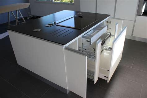 ilot central cuisine table ilot central table escamotable affordable cuisine ilot