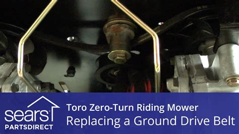 How Replace Toro Zero Turn Riding Mower Ground Drive