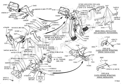 62 International Scout 80 Wiring Diagram by Ford Truck Technical Drawings And Schematics Section G