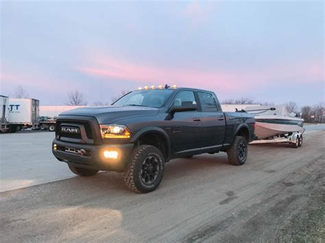 Towing A Boat With The 2017 Ram Power Wagon