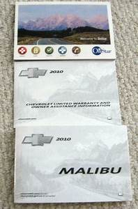 2010 Chevy Malibu Owners Manual