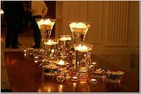 centerpieces with candles Kooklah: Do It Yourself-decorate candle votives