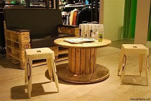 Tisch Aus Paletten : kabeltrommel tisch runder couchtisch aus holz ~ Yasmunasinghe.com Haus und Dekorationen
