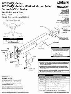 Wiring Diagram Corbin Russwin Ed5200s