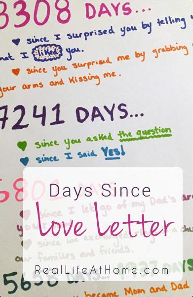 days love letter project calculator card ideas ideas