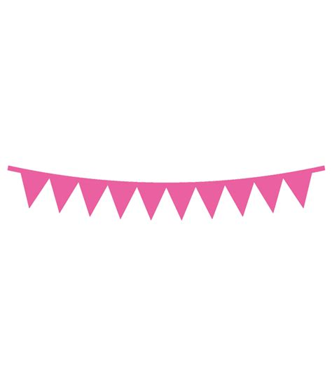 pennant banner svg file chicfetti