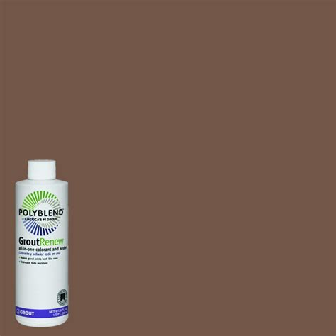 custom building products polyblend 105 earth 8 oz grout