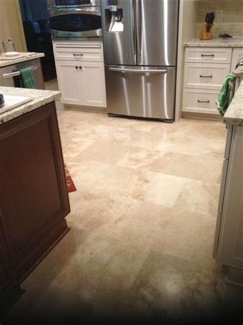 kitchen with travertine floors 17 best images about our tile work on brandon 6556