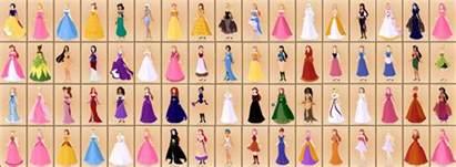 disney wedding dress name of all disney princesses