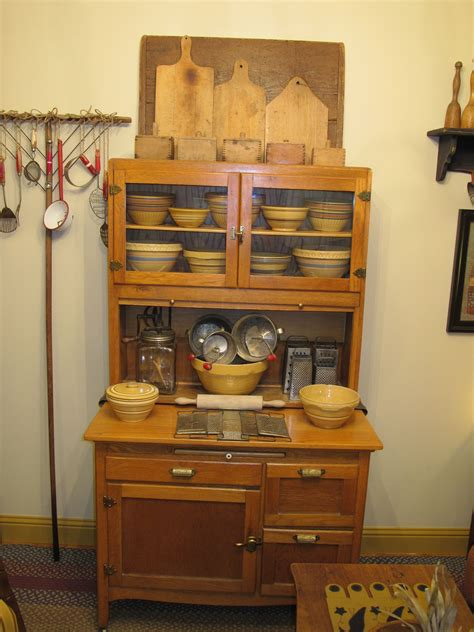 country kitchen ware hoosier with yellow ware home matters 2925