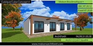 cubique cube plan maison cubique bac acier plain pied With amazing plan de maison cubique 12 interieure de maison moderne meilleures images d